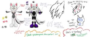Jessica's Reference Sheet by Dark-Goldengrace