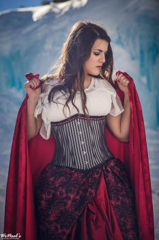 Red from Once Upon a Time Costume - Ice Castles 7 by PhoenixForce85