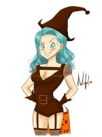 Witch Bulma! by NekoLover628