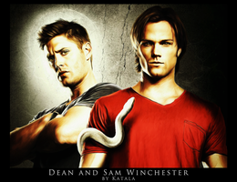 Dean and Sam Winchester DP by Katala