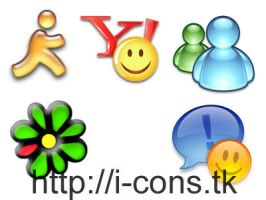 Chat Clients Icons by mmr85