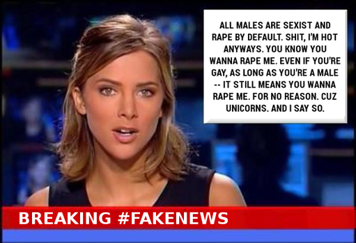 Breaking #FakeNews Men by paradigm-shifting