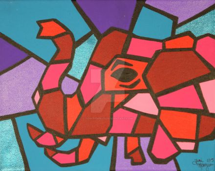 Picasso's Pet Elephant by ToniTiger415