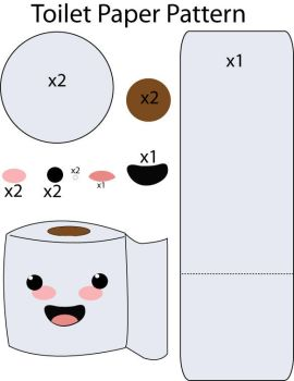 toilet paper cake instructions