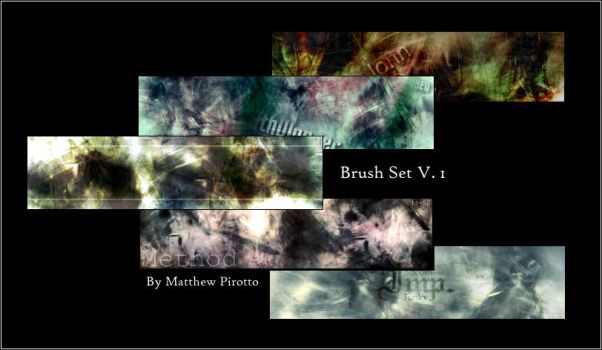 Matt's Abstract Brushes V. 1 by MatthewP