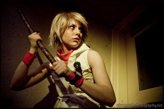 Heather Mason - Fight it out by Laurentea