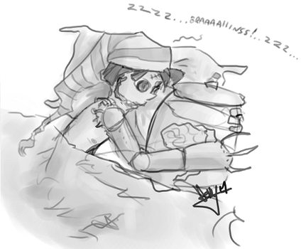 Sleepytime For Loboto by angelblood