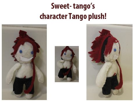Tango 5'' plushies for sale by Plushies-For-Sale