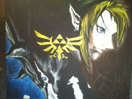 The Legend of Zelda Twilight Princess Cover by Yitty