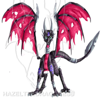 TCoE Cover project pt1 -Cynder by Hazelthedragoness