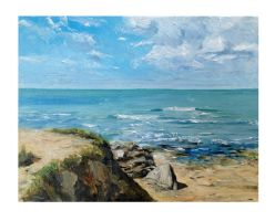 Summer light, french west coast by dustdevil
