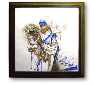 Be Your Own ICON Mother Teresa by NicholaiKHAN