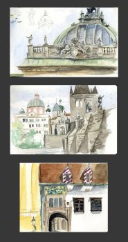Landscape Sketches by fyr3lyt3
