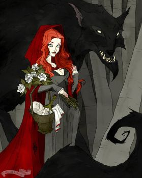 Little Red and the Wolf by AbigailLarson