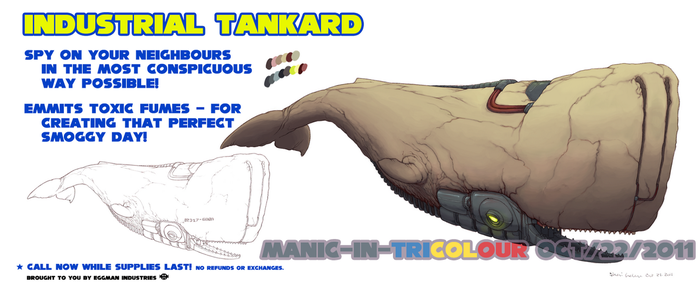 TUZ - Tankard concept by manic-in-tricolour