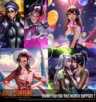 July Content complete ! by Liang-Xing