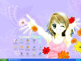 Summertime Desktop by mirror-of-madness