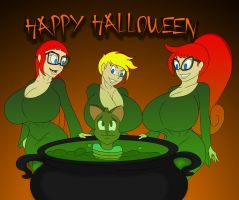 2016 Tests Sisters Halloween by Tomkat96