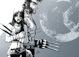 wolverine - x23 -1 by channandeller