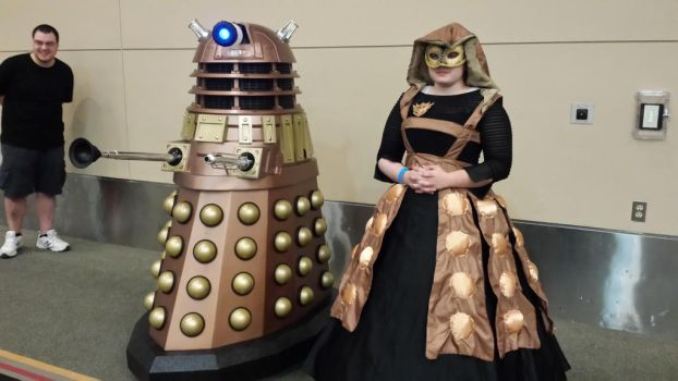Dalek by darkgaararain
