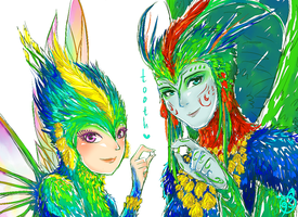 Tooth Fairies by nami9393