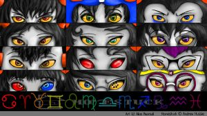 Homestuck - Wallpaper Trolls. by Kei-Ago
