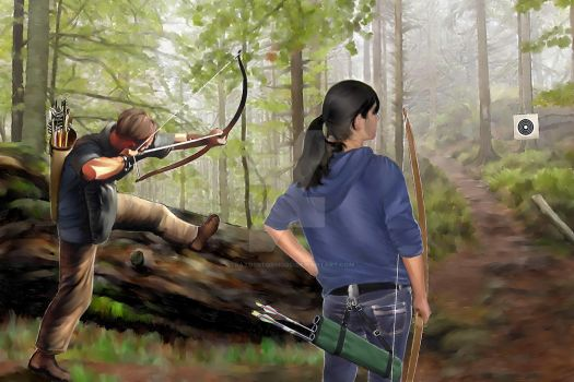 Archery - Forest by StratosStormgod