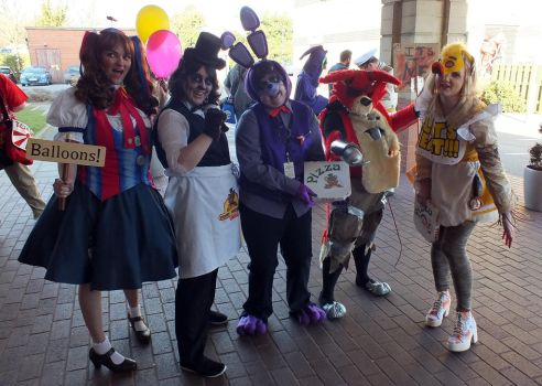 Minamicon 21, Five Nights at Freddys Group by Commander5AM