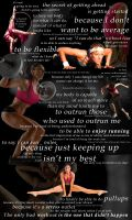 Exercise Motivation by MissTex89