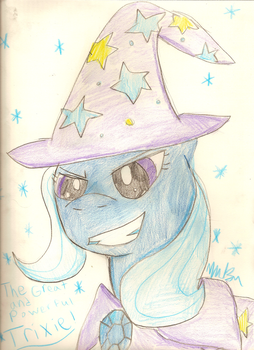 Trixie, the great and powerful by ninjacookie19