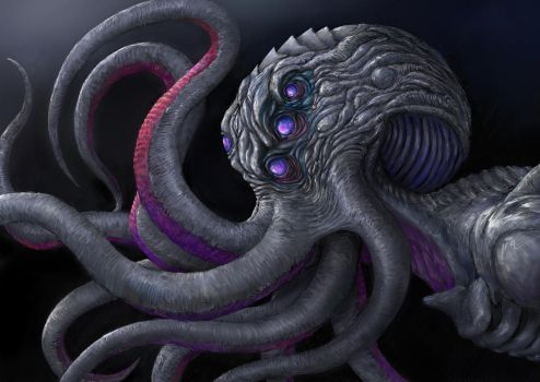 Howard Phillips Lovecraft 3 by Theocrata