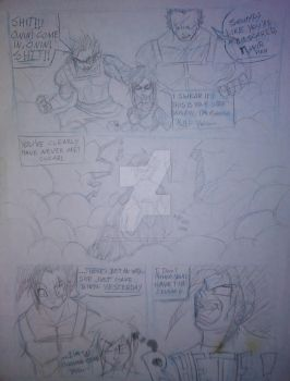 Dragonball Smoldering Remains pg4 (rough draft) by grinningsorrow