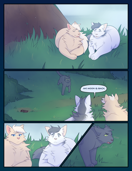 The Tribe of Shooting Stars [Page 023] by catdoq