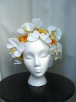 Orchid Headpiece by Mrs-SaxoBeat