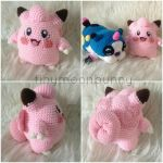 Clefairy (with pattern) by HerOnceWhiteWings