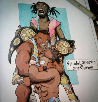 The New Day Make History  by suicidalassassin