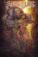 witchblade cover by keucha