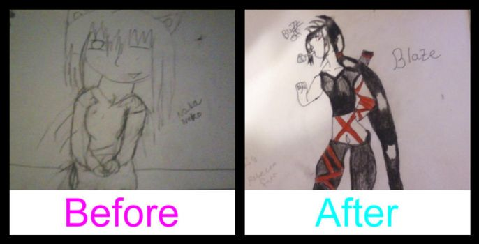 Before and After by HichiIchi