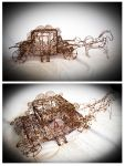 Carriage #2 - WIRE ART by robytoxic