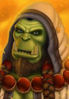 Thrall Son of Durotan by Luneder