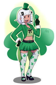 Happy Saint Patrick's day by AngeliccMadness
