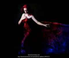 Red or blue? by Jennifer-Mihalcoe