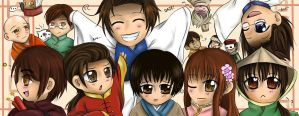 APH: Let's Welcome Hetalia Asia by Aloof-Star