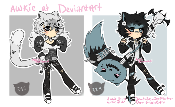 Male Adopt Batch 05 Set Price [HOLD] by Awkie