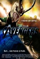 The Avengers Loki Poster 2 by Alex4everdn