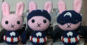Captain America Bunny! by XantheStar