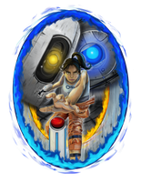 Portal 2- Push the Button by KT-245