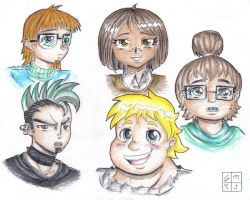 Total Drama island character 1 by dxoz