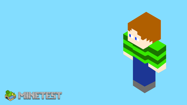Minetest Man by FabioMorales9999