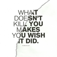 What Doesn't Kill You by WRDBNR